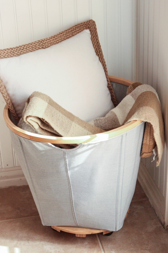 DIY Rolling Basket