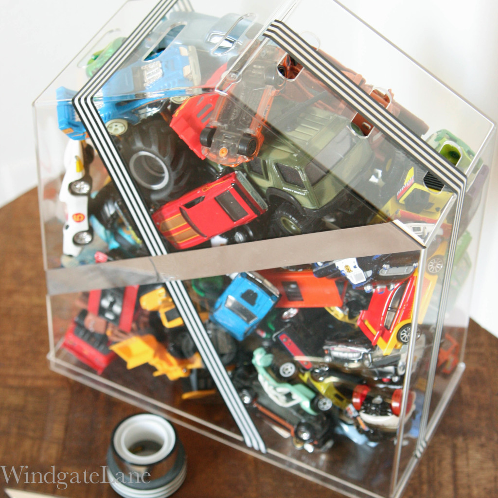 Matchbox Car Storage