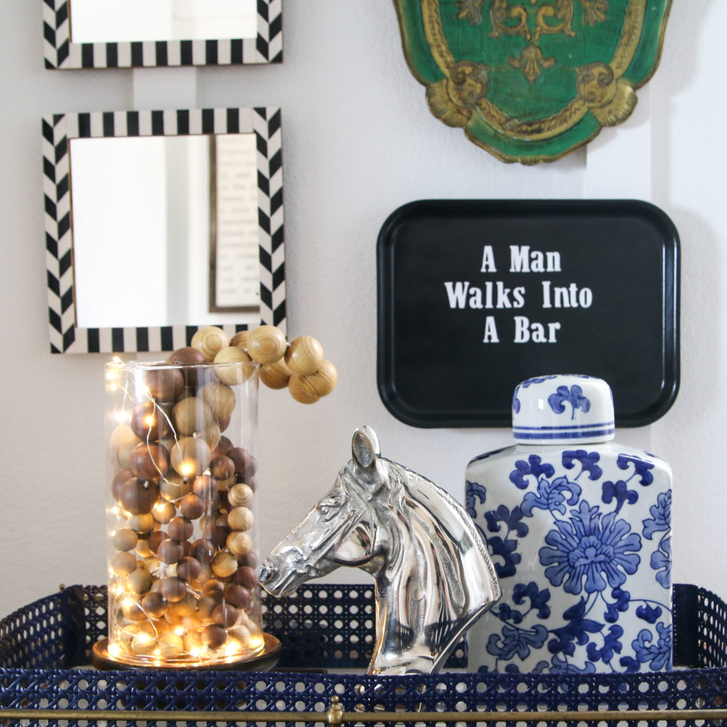 Bar Cart Styling | Swap It Like It's Hot