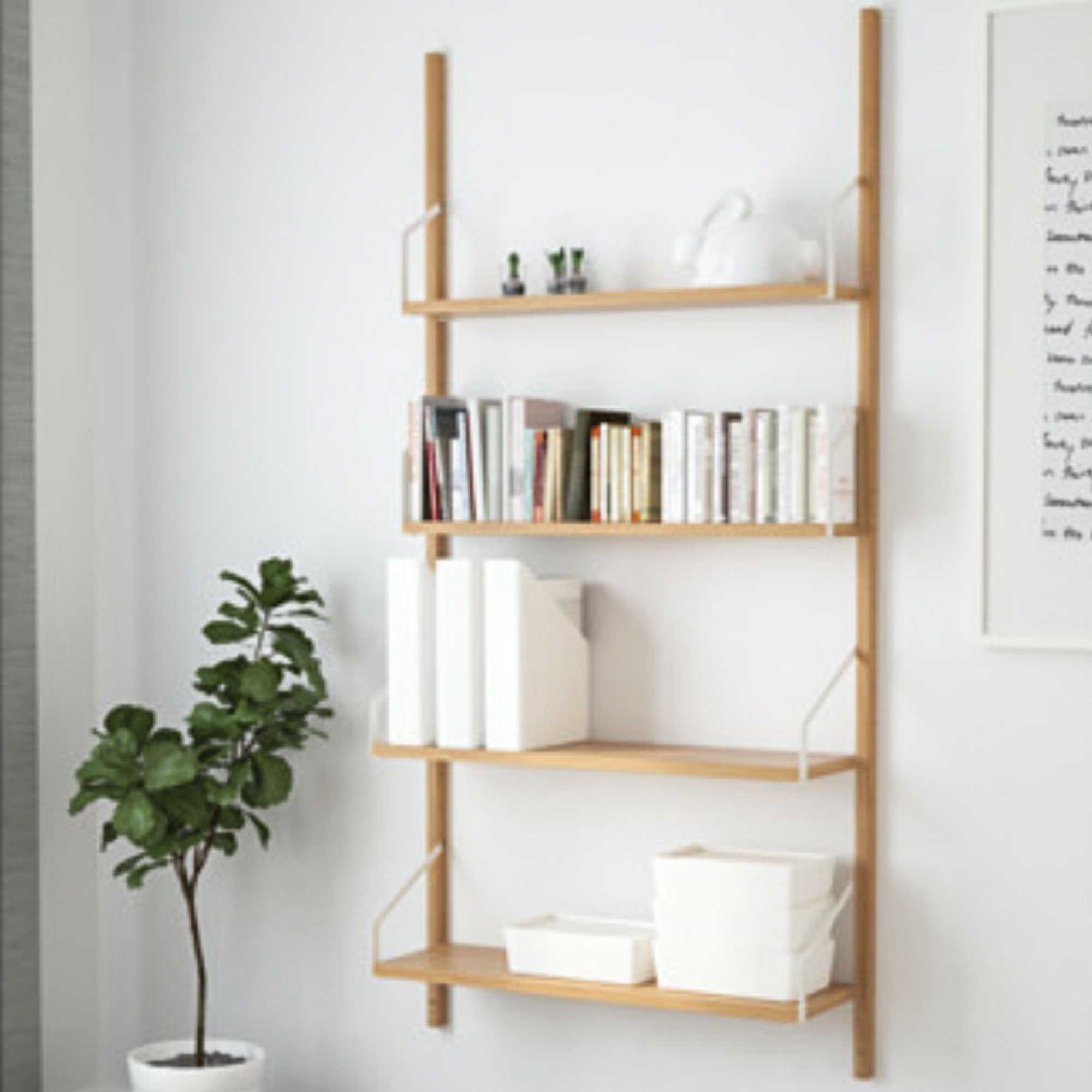 Ikea Wall Shelves Hack